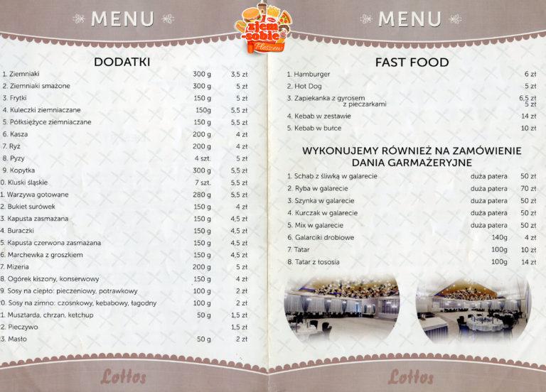 LOTTOS PLESZEW menu 1 zjem-sobie.pl